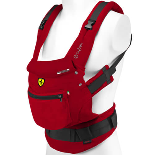 Cybex My Go Baby Carrier In Racing Red From Scuderia Ferrari Edition