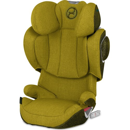 Cybex Solution Z Fix Plus Mustard, Yellow Car Seat And Stroller