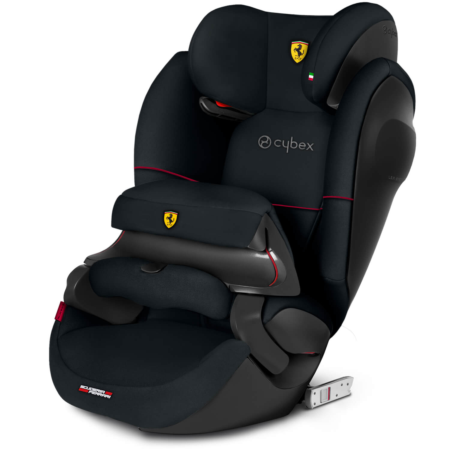 Cybex Pallas M Fix Sl Child Seat Victory Black Scuderia Ferrari