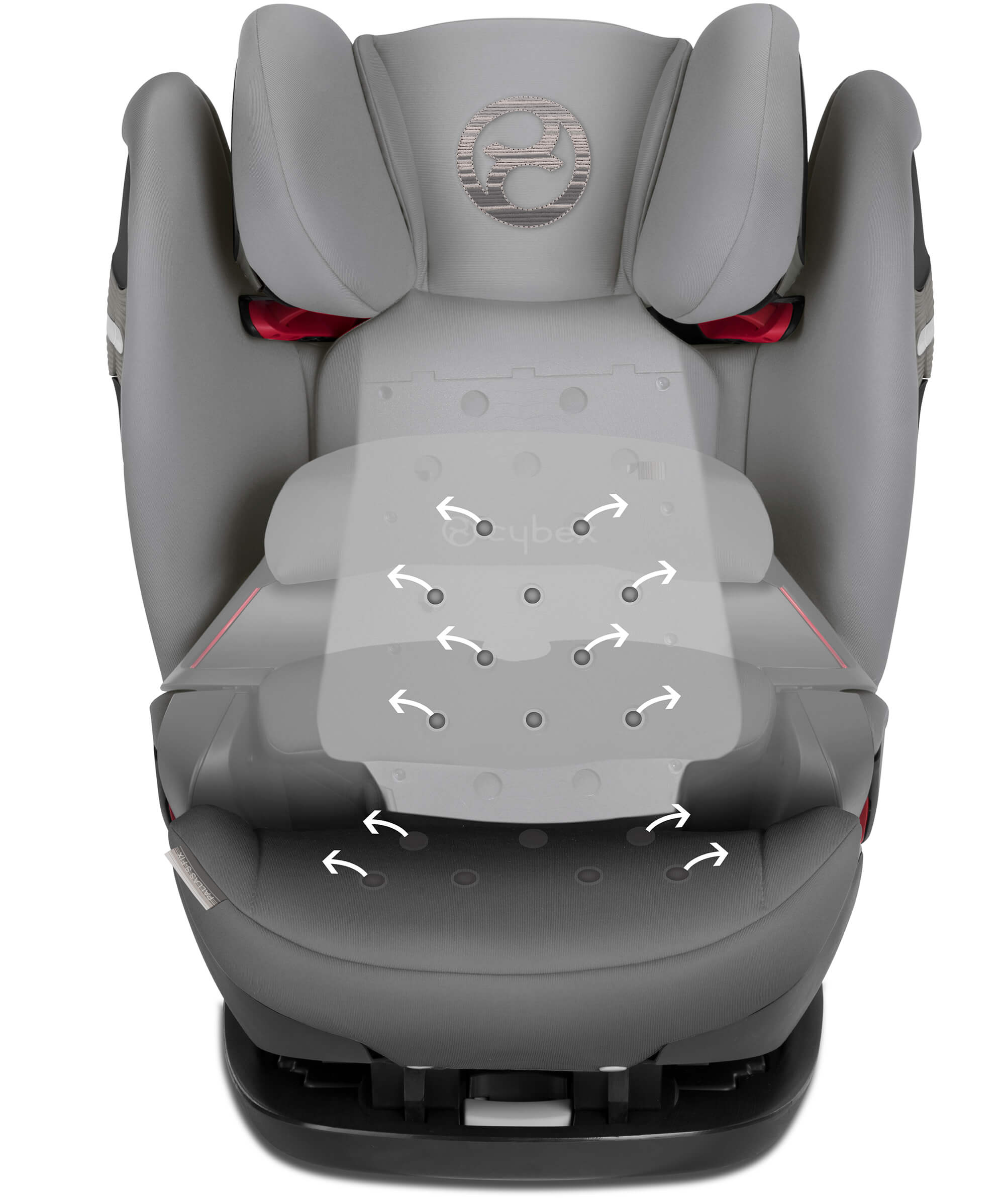 Cybex Pallas S Fix Child Seat Victory Black Scuderia Ferrari Edition Group 1 2 3
