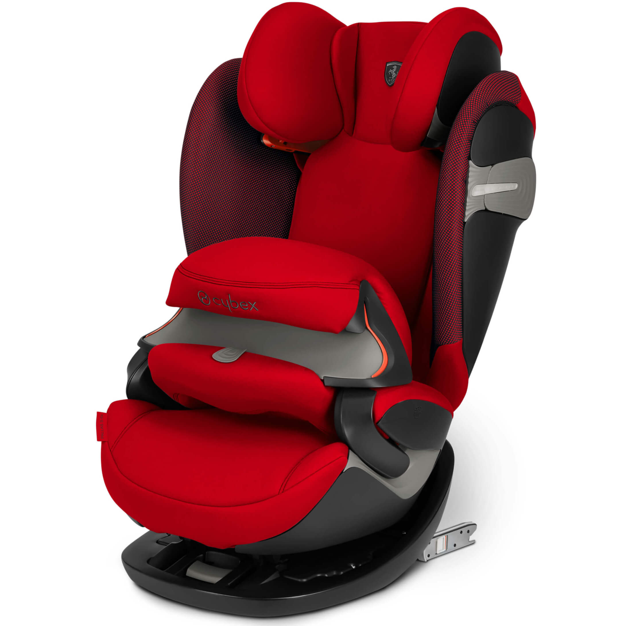 Cybex Pallas S Fix Racing Red Child Seat Group 1 2 3