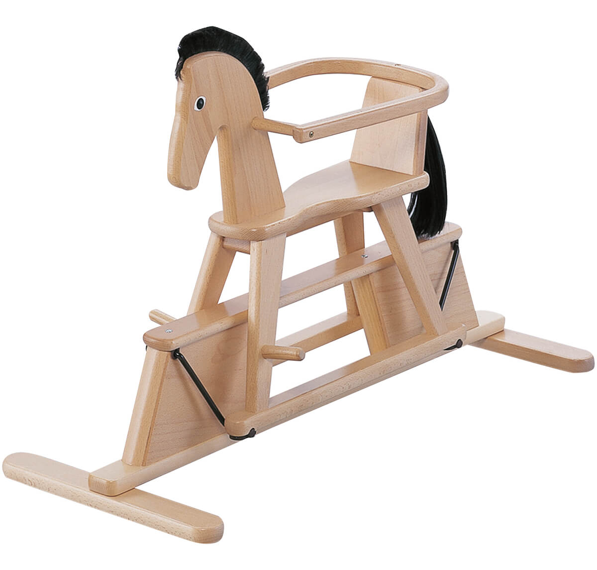 Geuther Swingly Star Wooden Rocking Horse