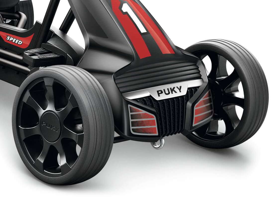 Puky 3530 Go-Cart F 550 in black